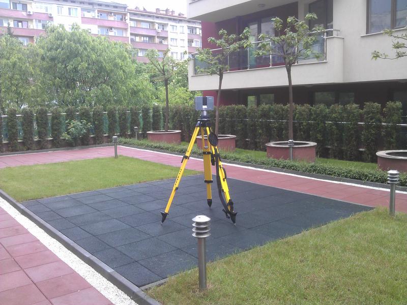3D геодезия, GPS, GLONASS, GNSS, 3D наземно лазерно сканиране, 3D geodesy, GPS, GLONASS, GNSS, 3D terrestrial laser scanning, 3D géodésie, balayage laser terrestre 3D, LIDAR, GPS, GLONASS et GNSS